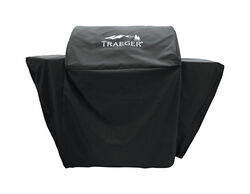 Traeger  Select Grills  Black  Grill Cover  For Select 21 in. W x 50 in. H