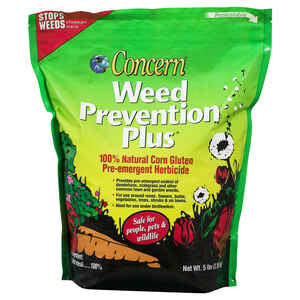 Concern  Weed Prevention Plus  Granules  Weed Preventer  5 lb.