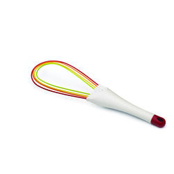 Joseph Joseph 3 in. W x 11-1/2 in. L Multicolored Silicone 2-in-1 Twist Whisk