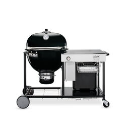 Weber  Summit  Charcoal  24 in. Grill  Black