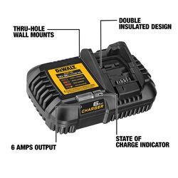 DeWalt 20 volt Lithium-Ion 6 Amp Battery Charger 1 pc.