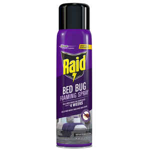 Raid  Foaming Spray  Bed Bug Killer  16.5 oz.