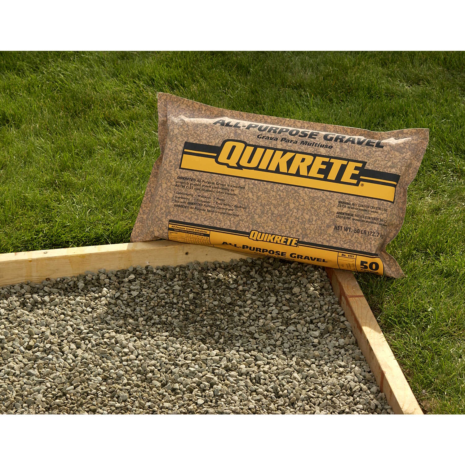 Quikrete All-Purpose Gravel 50 lb  - Ace Hardware