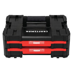 Craftsman VERSASTACK 17 in. 2-Drawer Tool Box Black/Red