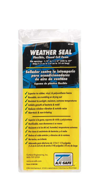 Outland  Window Air Conditioner Weather Seal