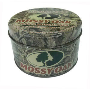 Mossy Oak  Candle with Holder  Wax  For Mosquitoes/Other Flying Insects 8 oz.