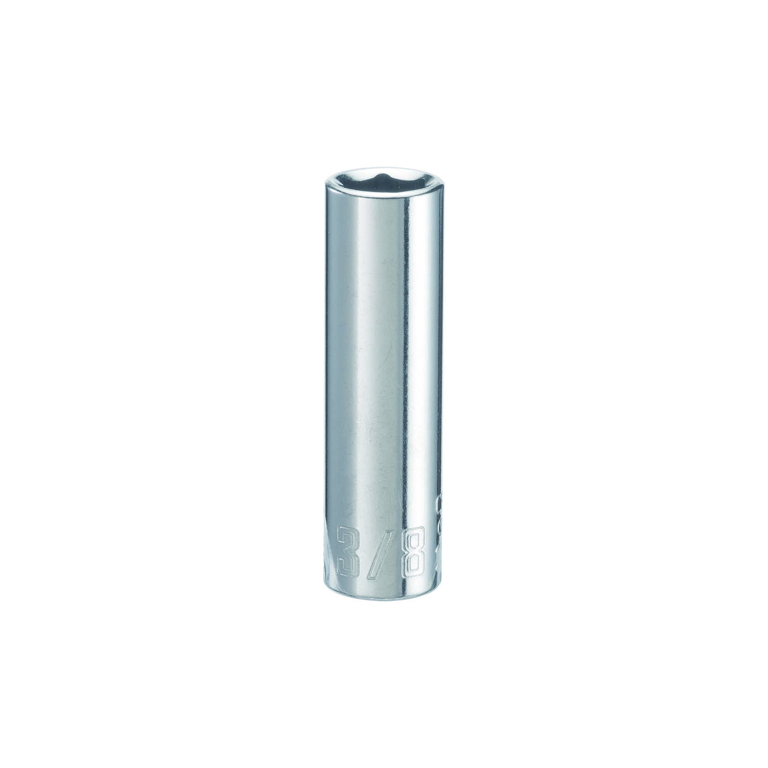 Craftsman  3/8 in.  x 1/4 in. drive  SAE  6 Point Deep  Socket  1 pc.