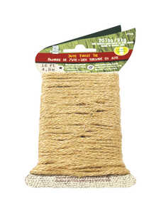 SecureLine  16 ft. L x 2/25 in. Dia. Braided  Jute  Twine  Natural