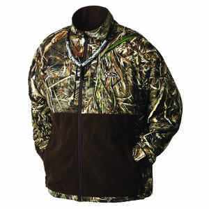 Drake  MST Eqwader  L  Long Sleeve  Men's  Full-Zip  Jacket  Realtree Max-5