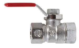 Mueller  Ball Valve  1/8 in. FPT   x 1/8 in. Dia. FPT  Brass  Packing Gland