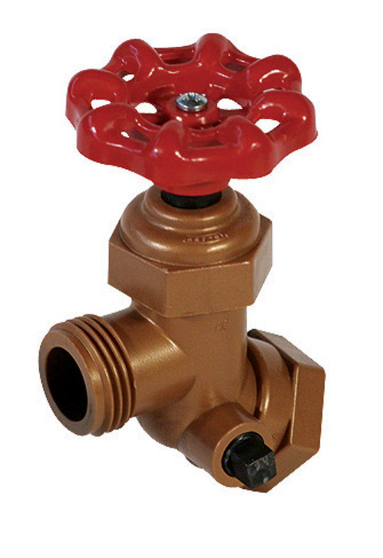 NDS  FIP  Dia. x 3/4 in. Dia. 3/4 in. Celcon  MHT  Sillcock Flange Valve