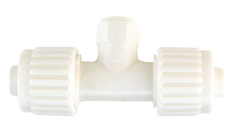 Flair-It  1/2 in. PEX   x 3/8 in. Dia. MPT  Plastic  Adapter