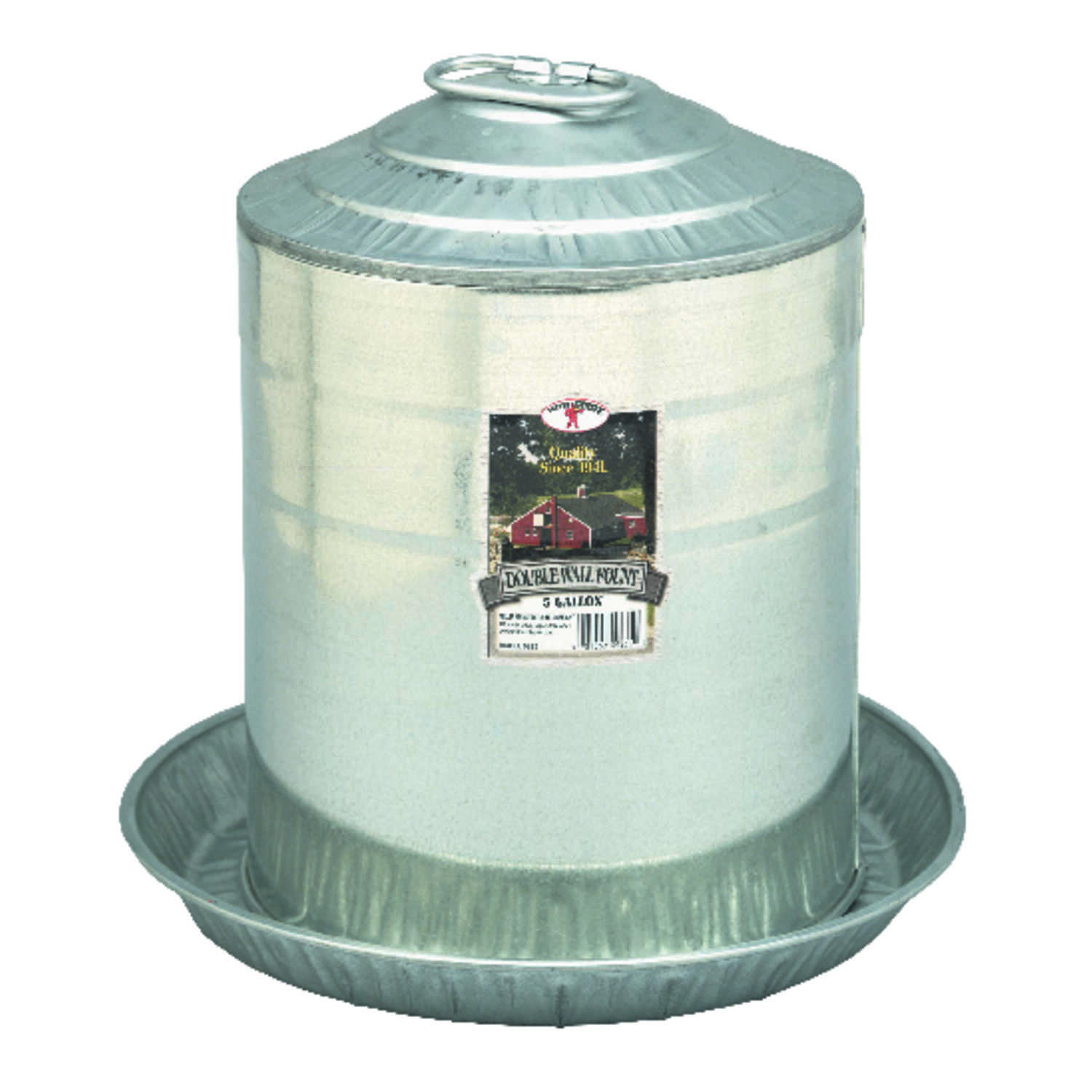 Little Giant  640 oz. Fount  For Poultry