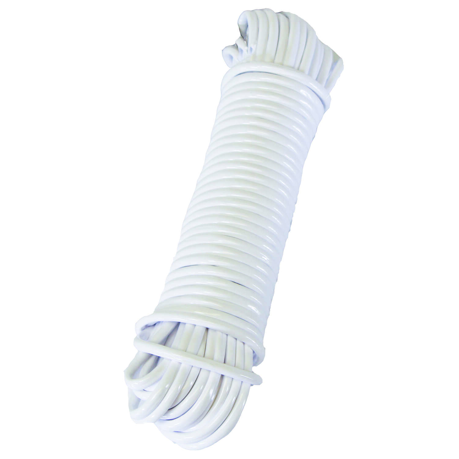 Ace  50 ft. L White  White  Plastic  Clothesline
