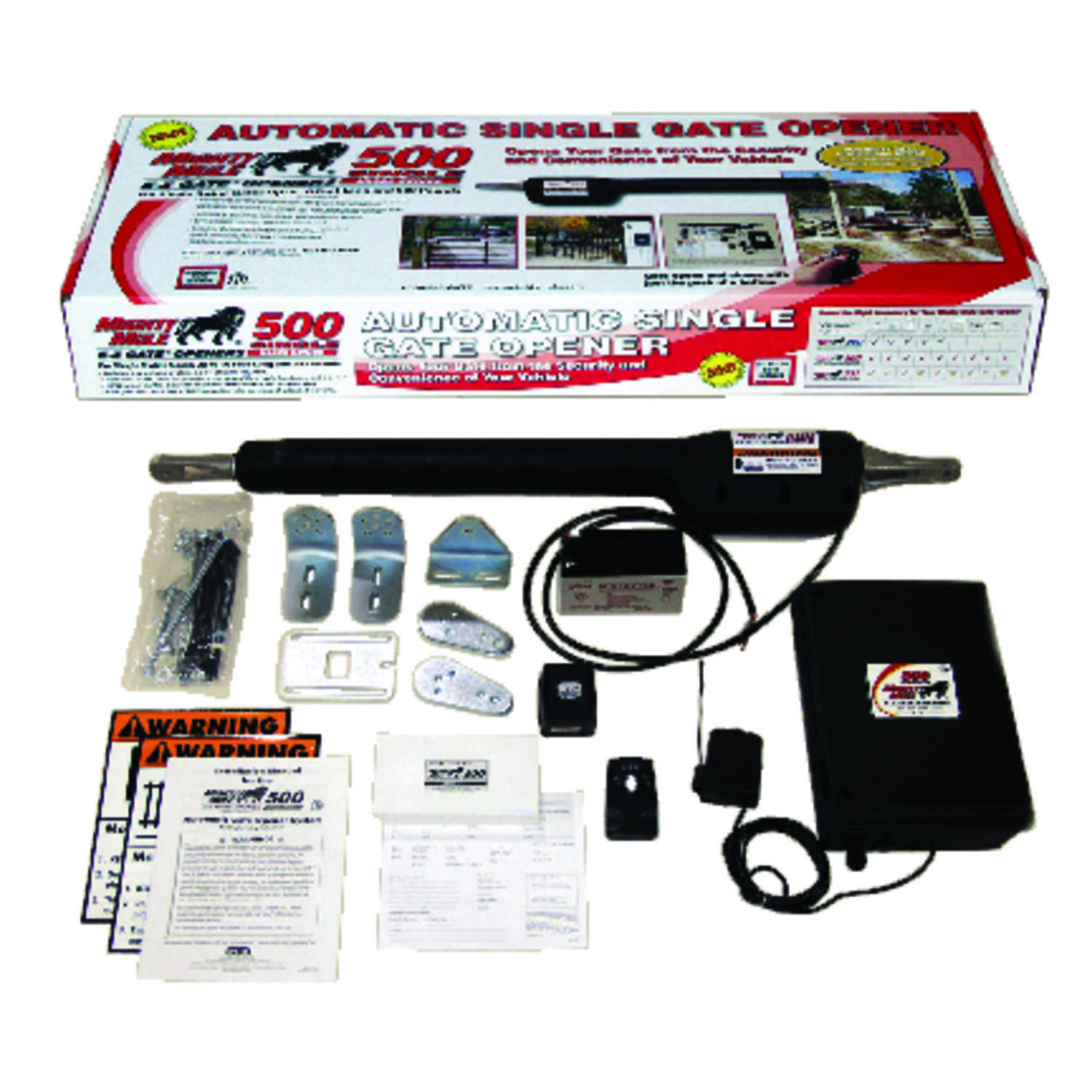 Mighty Mule  12 volt AC/Battery Powered  Automatic Gate Opener