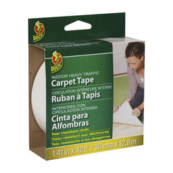 Duck 1.41 W x 42 ft. L Polyester Indoor Carpet Tape