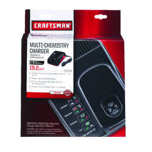 Craftsman  C3  Lithium-Ion/Ni-Cad  1 pc. 19.2 volts Battery Charger