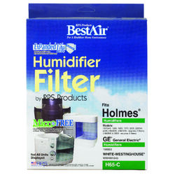 Best Air  Humidifier Filter  1 pk For Fits for White-Westinghouse models BCM-1845, 1855