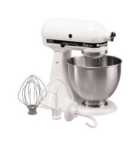 KitchenAid  Classic Series  White  4-1/2 qt. 10 speed Stand  Food Mixer