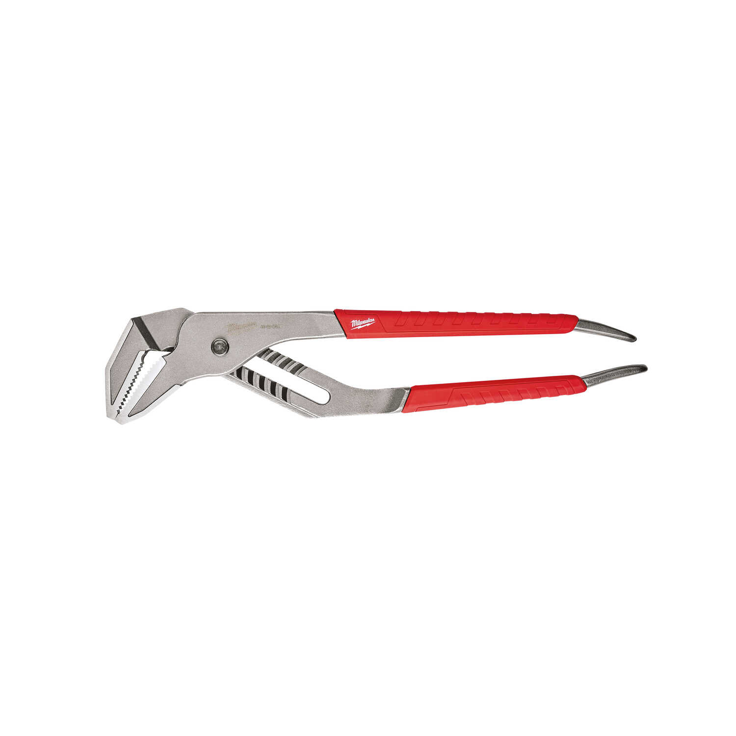 Milwaukee  REAM & PUNCH  16 in. Forged Alloy Steel  Slip Joint Pliers  Red  1 pk