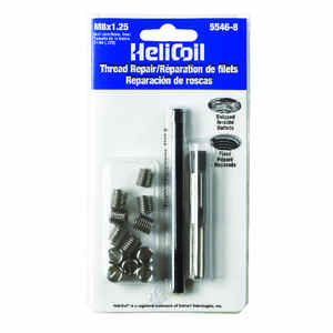 Heli-Coil  1.25 in. Stainless Steel  Thread Repair Kit