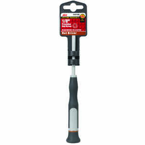 Ace  1/8 in. SAE  6.6 in. L 1 pc. Nut Driver