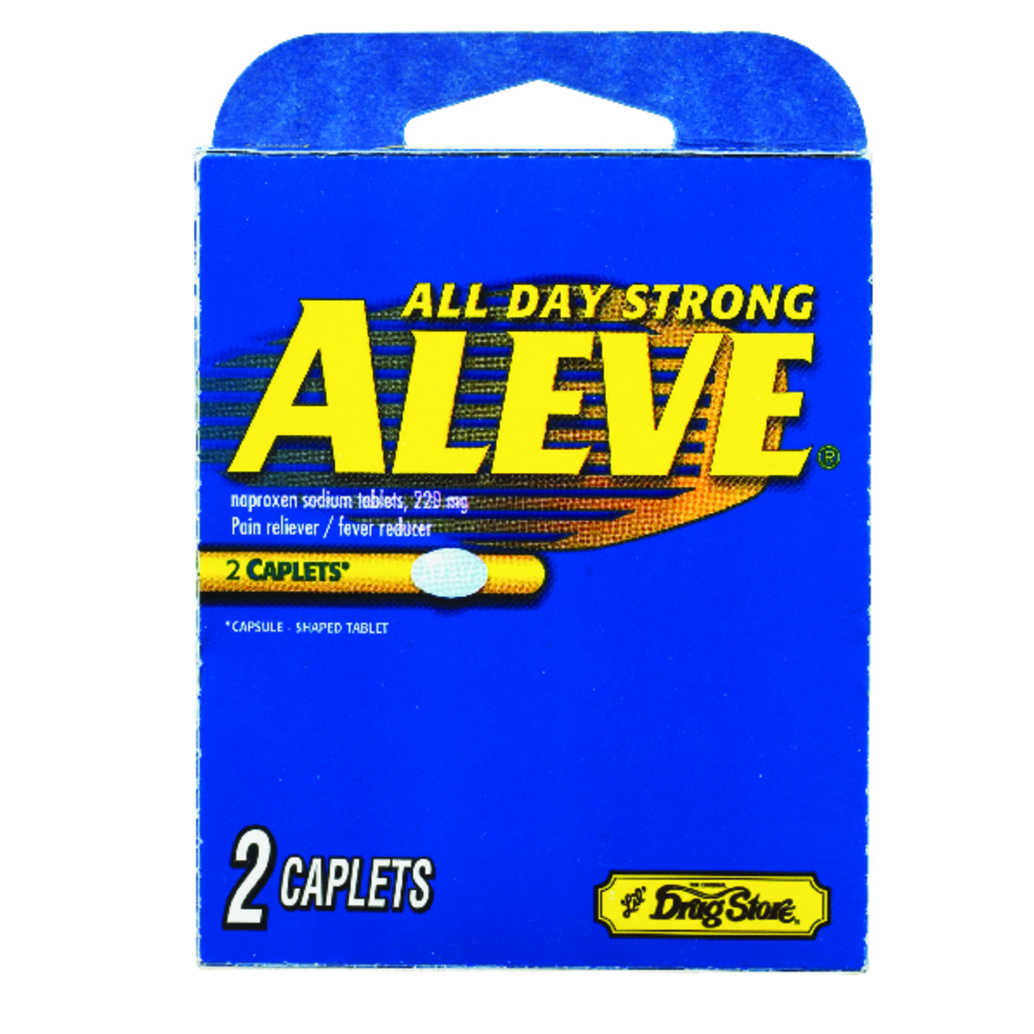 Aleve  Lil Drugstore  2 count Pain Reliever  2 count