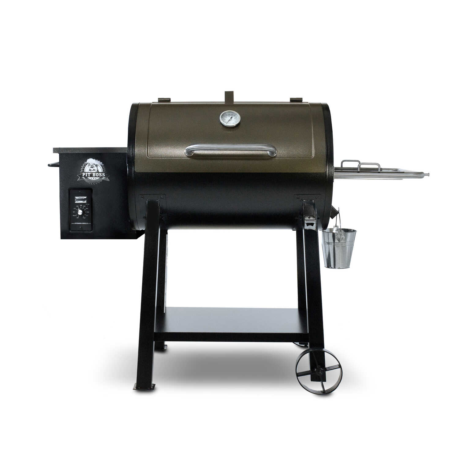 Pit Boss  440 Deluxe  Wood Pellet  Patio  Grill  Copper