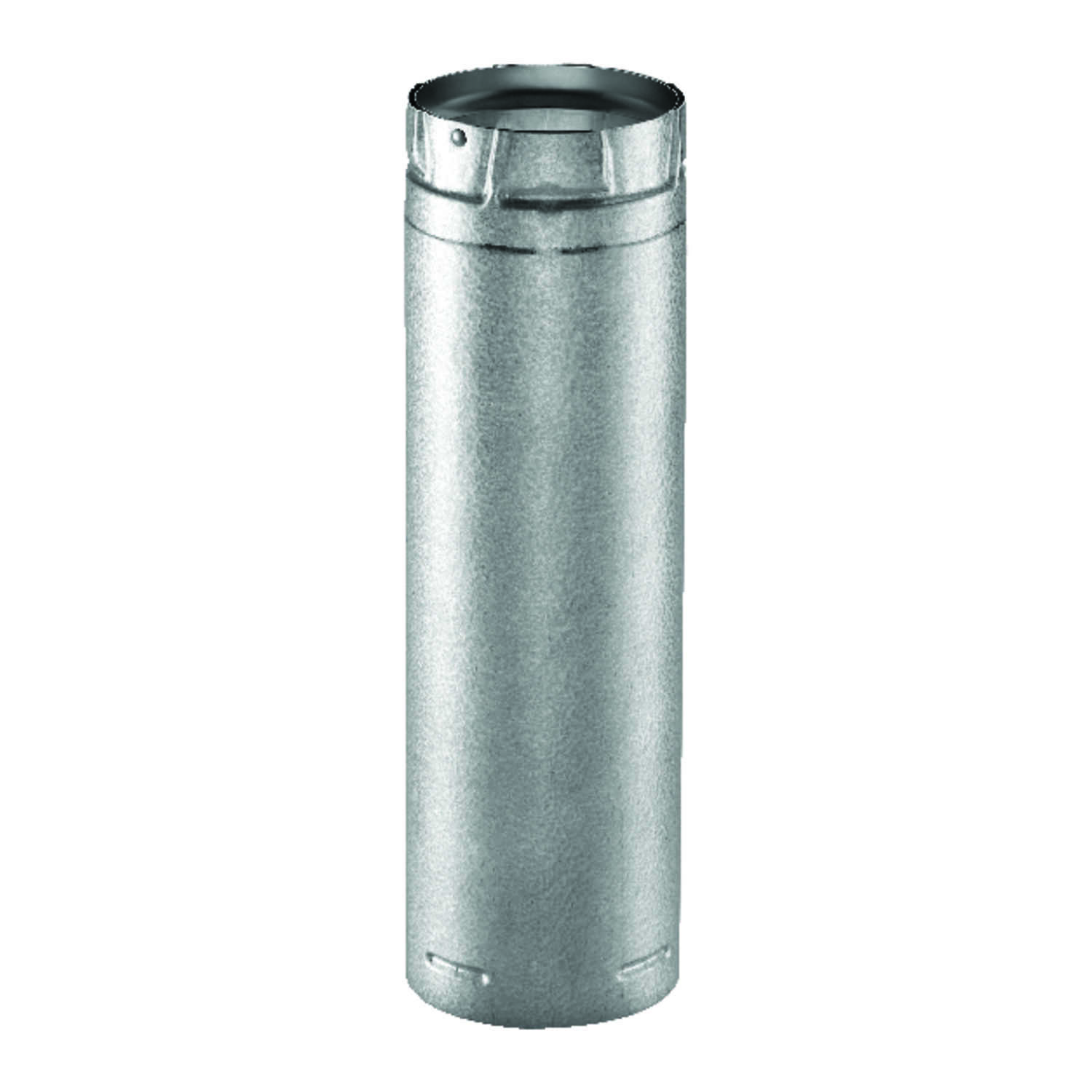 DuraVent  3 in. Dia. x 12 in. L Stainless Steel  Double Wall Stove Pipe