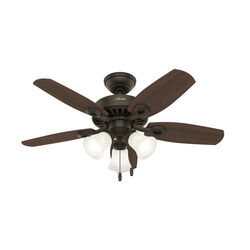 Hunter Fan  Builder Small Room  42 in. New Bronze  Indoor  Ceiling Fan