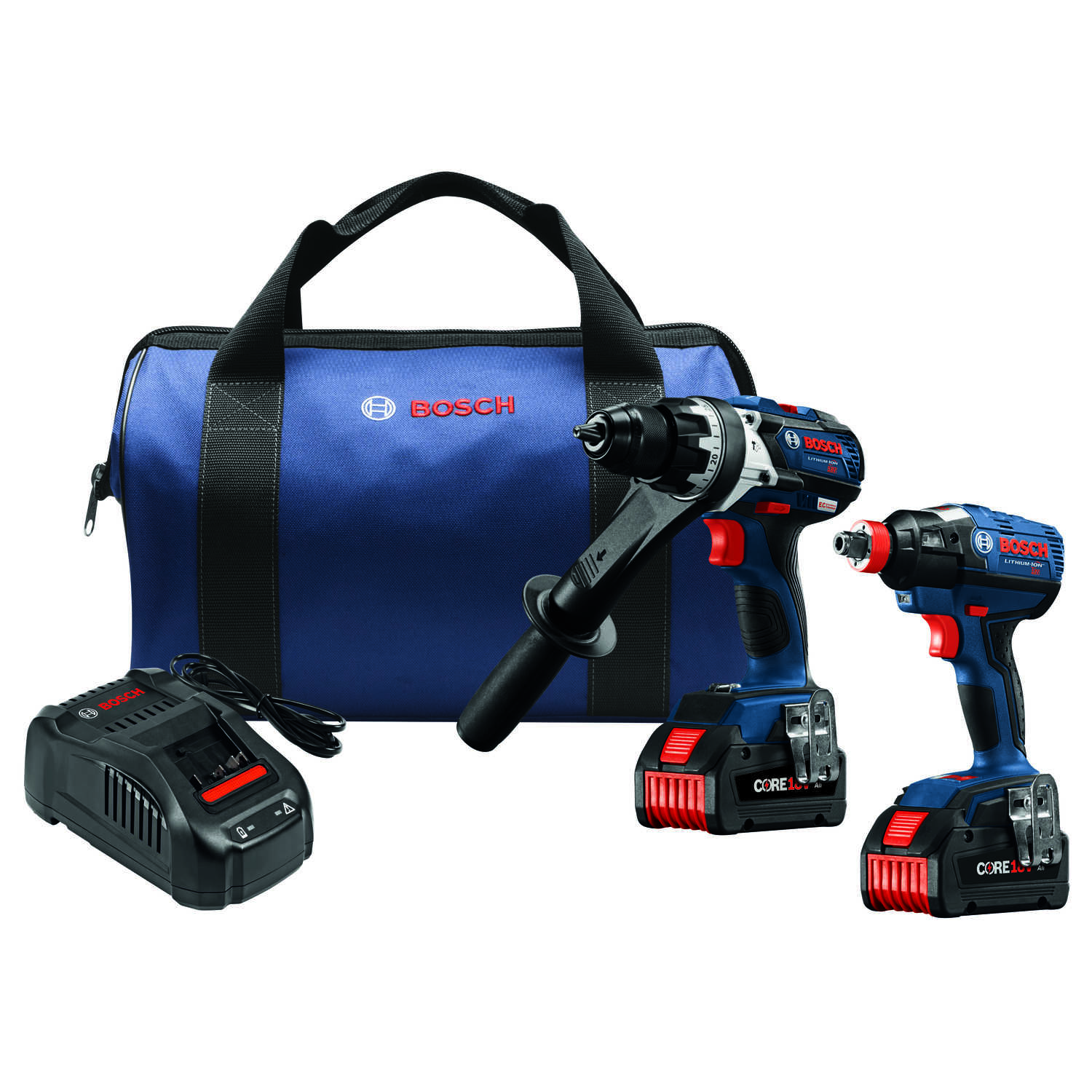 Bosch  Cordless  Brushless 2 tool Hammer Drill and Impact Driver Kit  18 volt