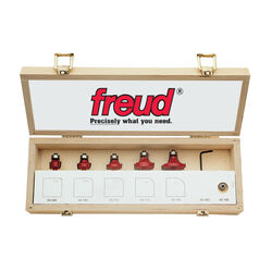 Freud  Carbide  Round Over and Beading Router Bit Set  5 pc.
