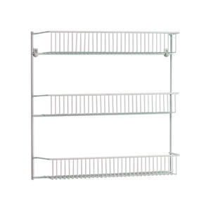 ClosetMaid  18.52 in. H x 18.75 in. W x 5 in. L White  Storage Shelf