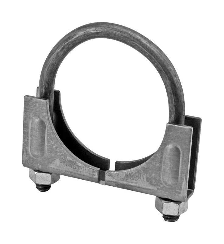 Victor  2 in. Steel  Muffler Clamp