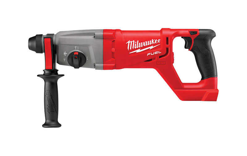 Milwaukee  M18 FUEL  18 volt 1 in. Brushless Cordless Hammer Drill  1500 rpm 1 speed