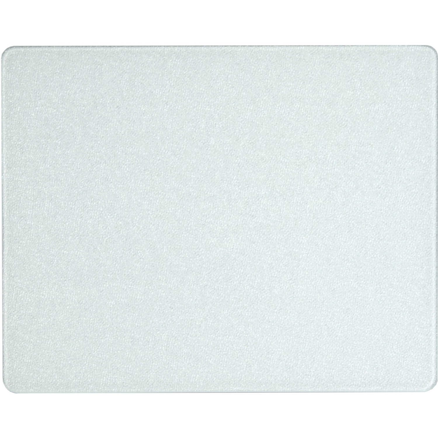 Corelle  12 in. W x 15 in. L Textured  White  Glass  Cutting Board