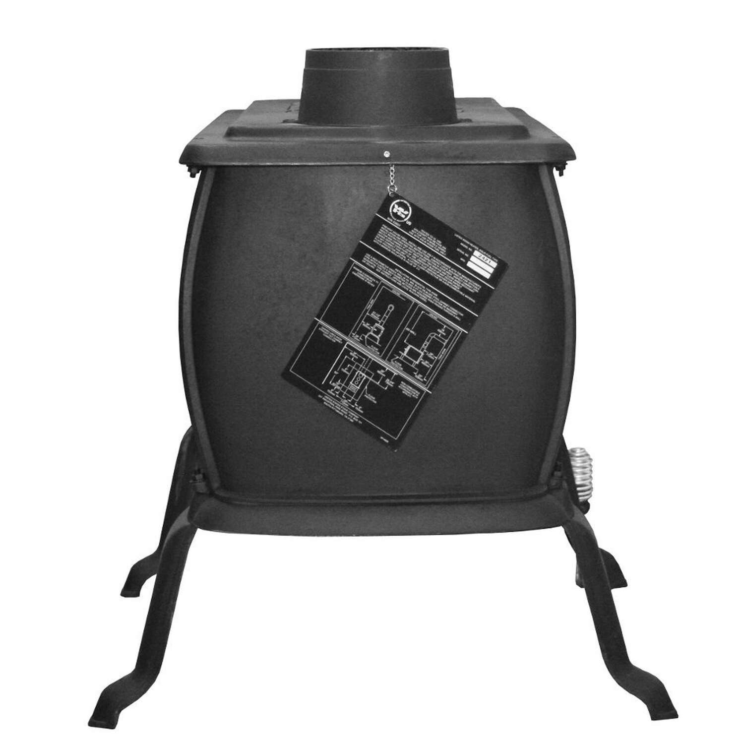 US Stove  94000 BTU 1600 sq. ft. Wood Stove