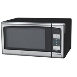 Perfect Aire  1.1 cu. ft. Black/Silver  Microwave  1000 watt