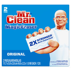 Mr. Clean  Original  Medium Duty  Magic Eraser  For Multi-Purpose 4.6 in. L 2 pk