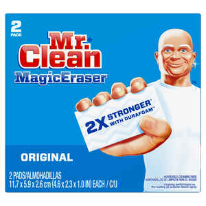 Mr. Clean  Medium Duty  Magic Eraser  4.6 in. L 2 pk