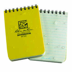 Rite In The Rain  All-Weather  3 in. W x 4-1/2 in. L Spiral  Notebook