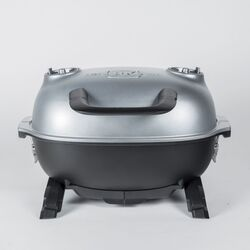 PK  PKGO  Charcoal  Grill and Smoker  Silver