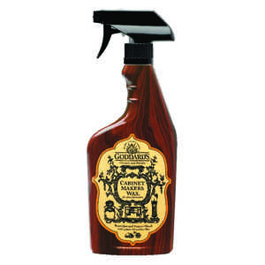 Goddard's  Cabinet Makers Wax  Lemon Scent Fine Furniture Cleaner and Polish  16 oz. Spray