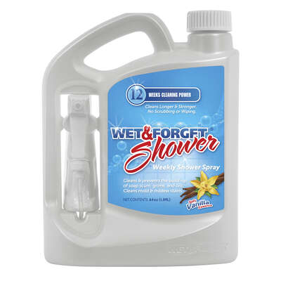 Wet & Forget  Vanilla Scent Bathroom Cleaner  64 oz. Spray