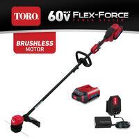 Toro 13-inch / 15-inch 60V Flex-Force String Trimmer Kit