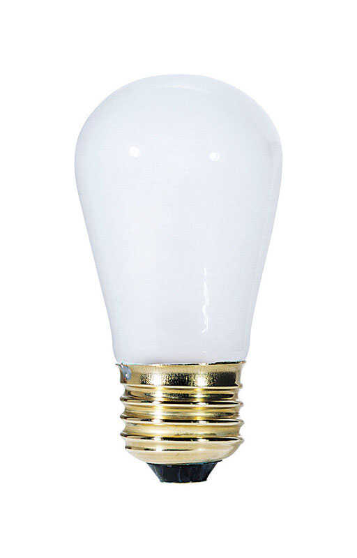 Westinghouse  11 watts S14  Incandescent Bulb  60 lumens White  Speciality  1 pk