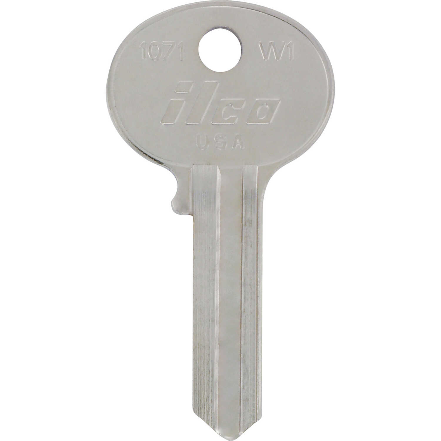 Hillman  KeyKrafter  House  Universal Key Blank  2008  W1  Single sided