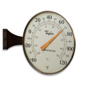 Taylor  Dial  Thermometer  Aluminum  Bronze
