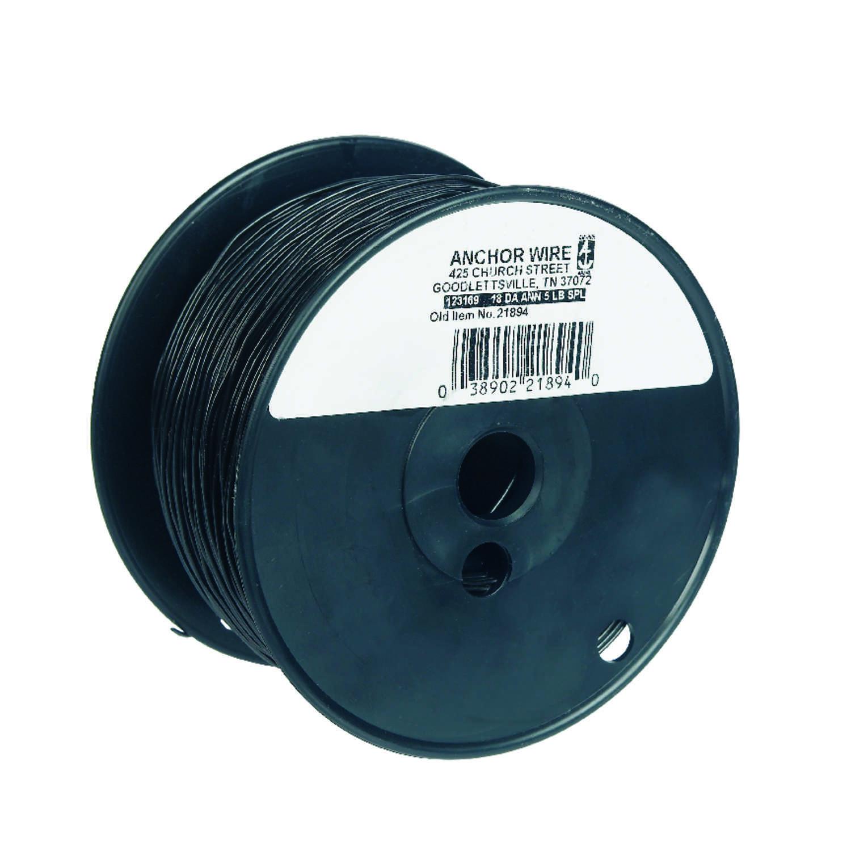 HILLMAN 830 ft. L Black Annealed Steel 18 Ga. Mechanics Wire - Ace ...