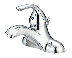 OakBrook  Coastal  Chrome  Single Handle  Lavatory Pop-Up Faucet  4 in.